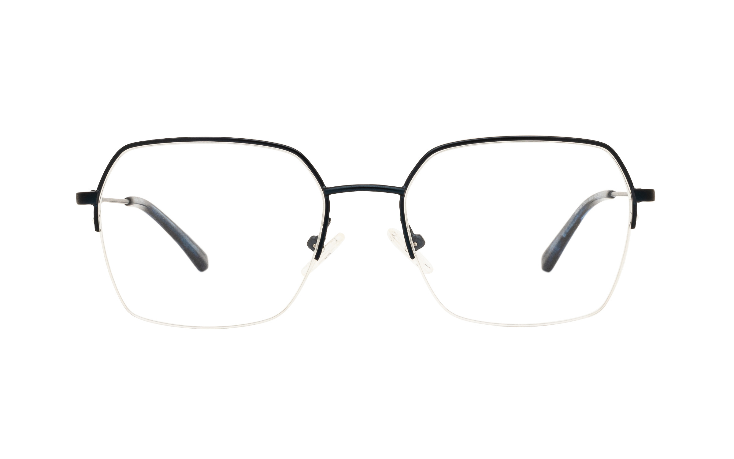Clearly Basics Port au Choix CLS100 C04 (53) Eyeglasses and Frame in Matte Blue - Online