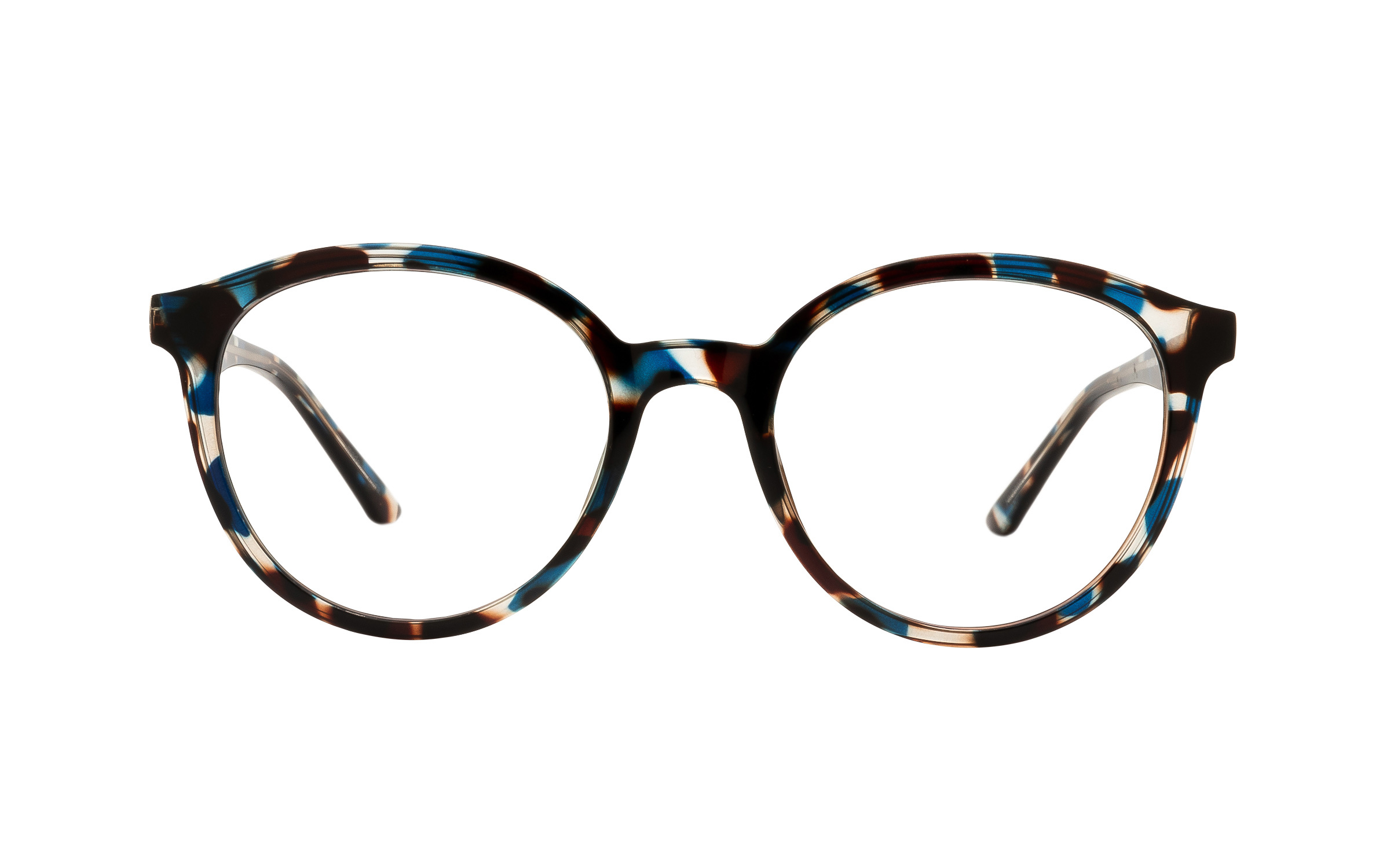 Clearly Basics Red Bay CLS090 C02 (51) Eyeglasses and Frame in Blue/Tortoise - Online Coastal