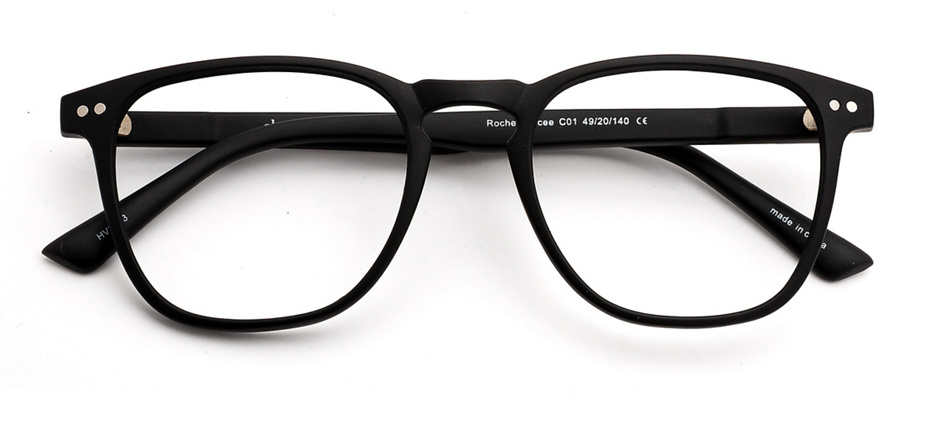 product image of Clearly Basics Roche Percee-49 Matte Black