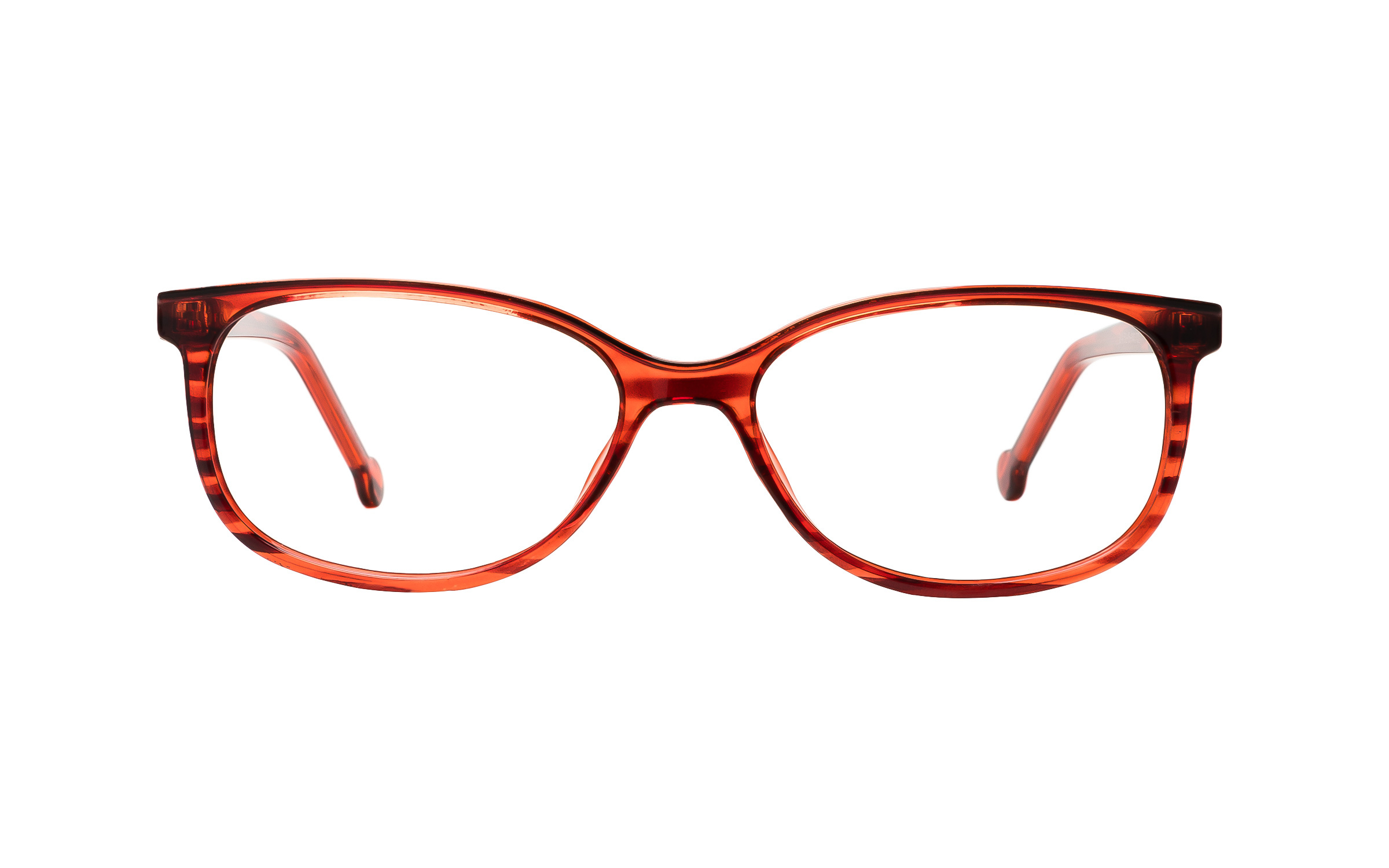 Clearly Basics S14 C2 (52) Eyeglasses and Frame in Red - Online Coastal