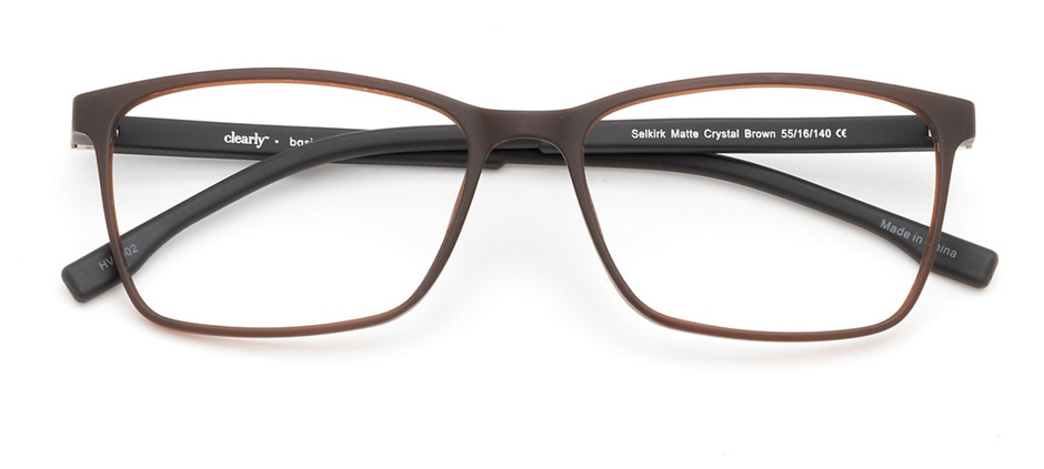 product image of Clearly Basics Selkirk-55 Matte Crystal Brown