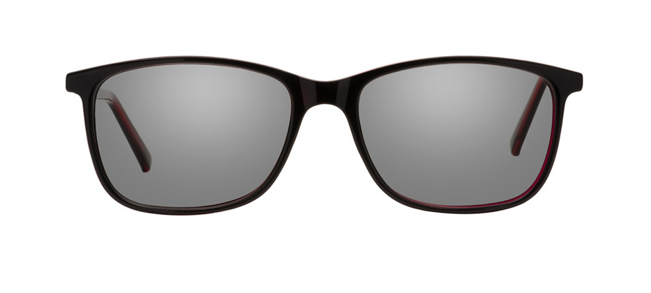 product image of Clearly Basics Clarenville Black Red