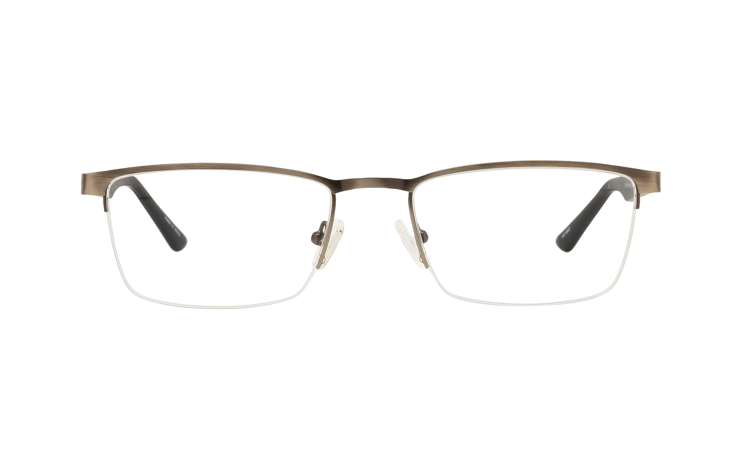 Clearly Basics St. Malo CLS045 C03 (57) Eyeglasses and Frame in Matte Brushed Gun Grey | Acetate/Metal - Online