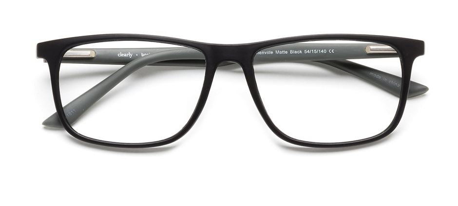 product image of Clearly Basics Stephenville-54 Matte Black