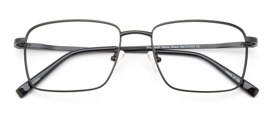 product image of Clearly Basics Stonewall-53 Matte Black