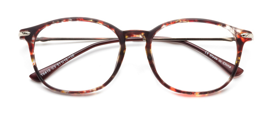 product image of Clearly Basics Minnedosa Matte Silver Tortoise