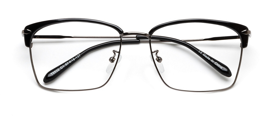 product image of Clearly Basics Edmundston Black Gunmetal