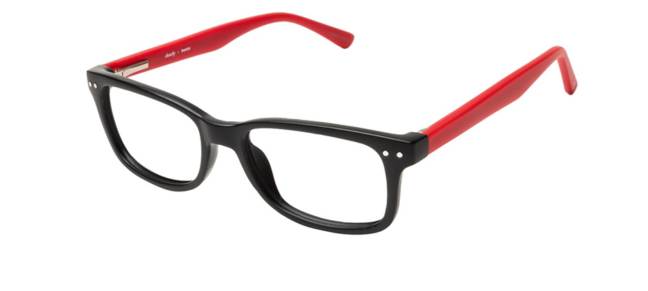 product image of Clearly Basics Tavani-49 Black Red