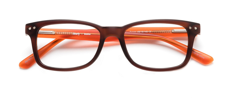 product image of Clearly Basics Tavani-49 Matte Brown