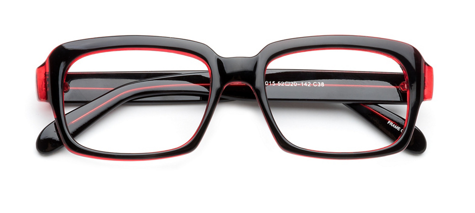product image of Clearly Basics Eriksdale Black Red
