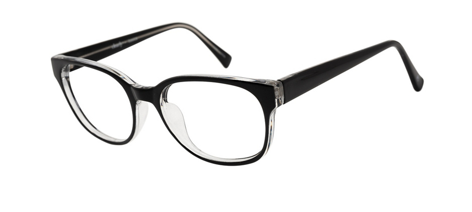 product image of Clearly Basics Val Marie-51 Black Clear