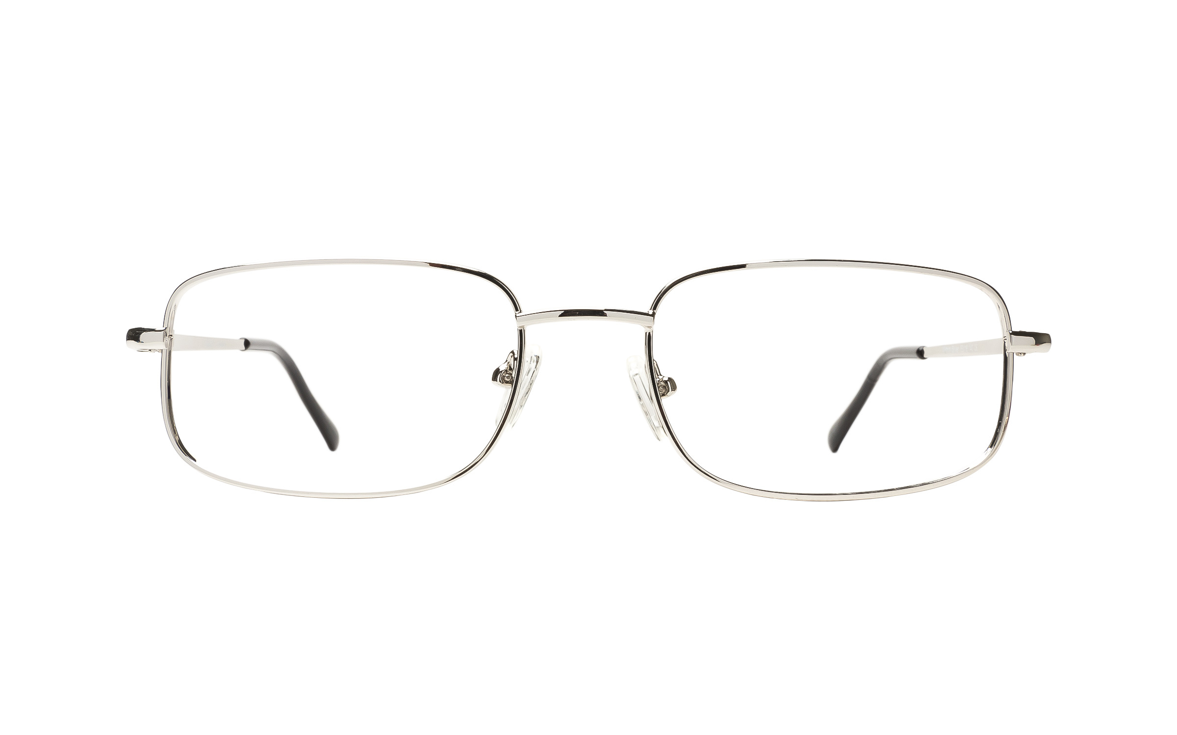 Clearly Basics Wimin (53) Eyeglasses and Frame in Silver | Plastic - Online Coastal