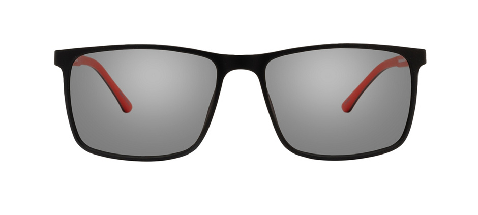 product image of Clearly Basics Winkler-55 Matte Black Red