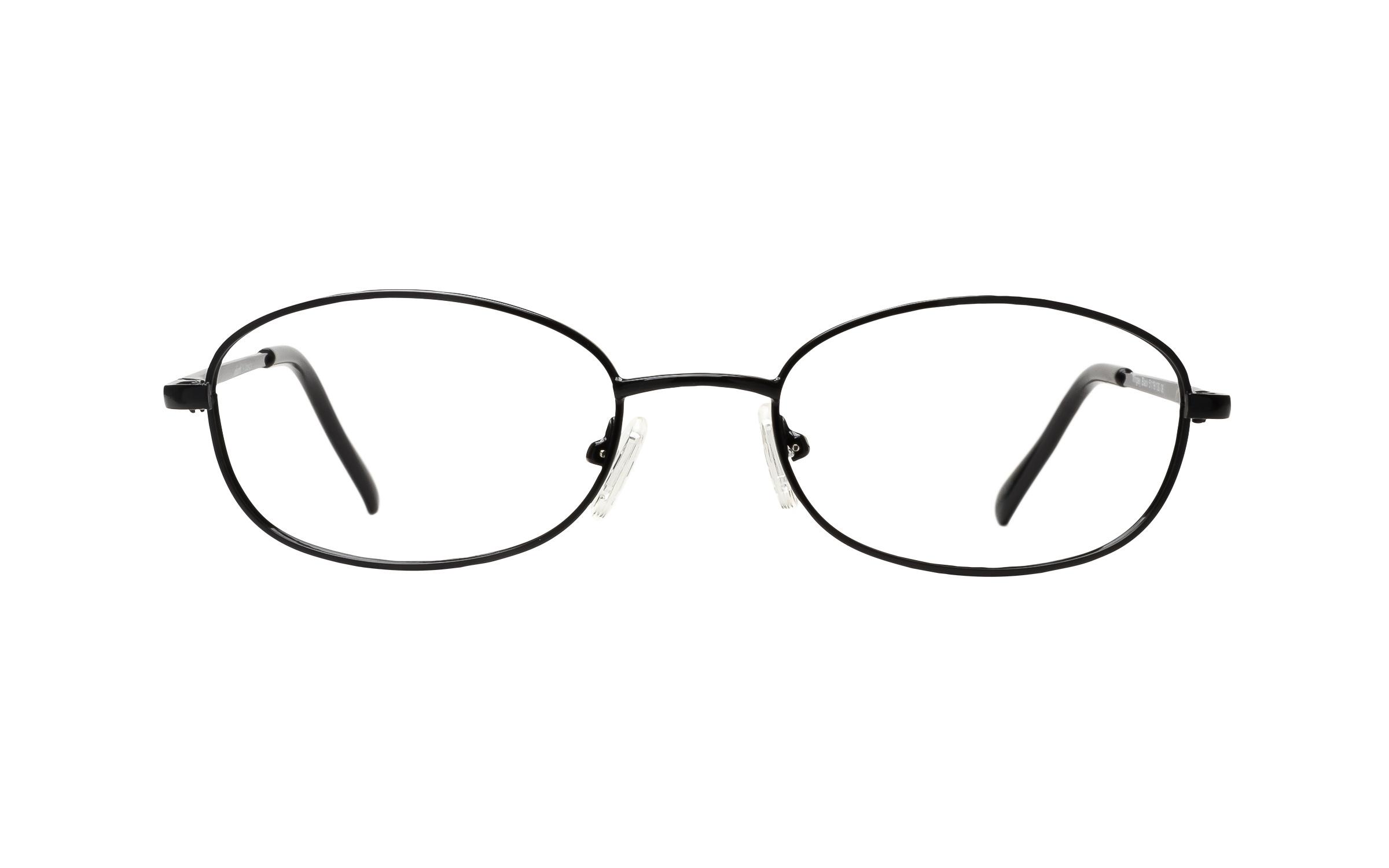 Clearly Basics Wrigley (51) Eyeglasses and Frame in Black | Plastic - Online Coastal
