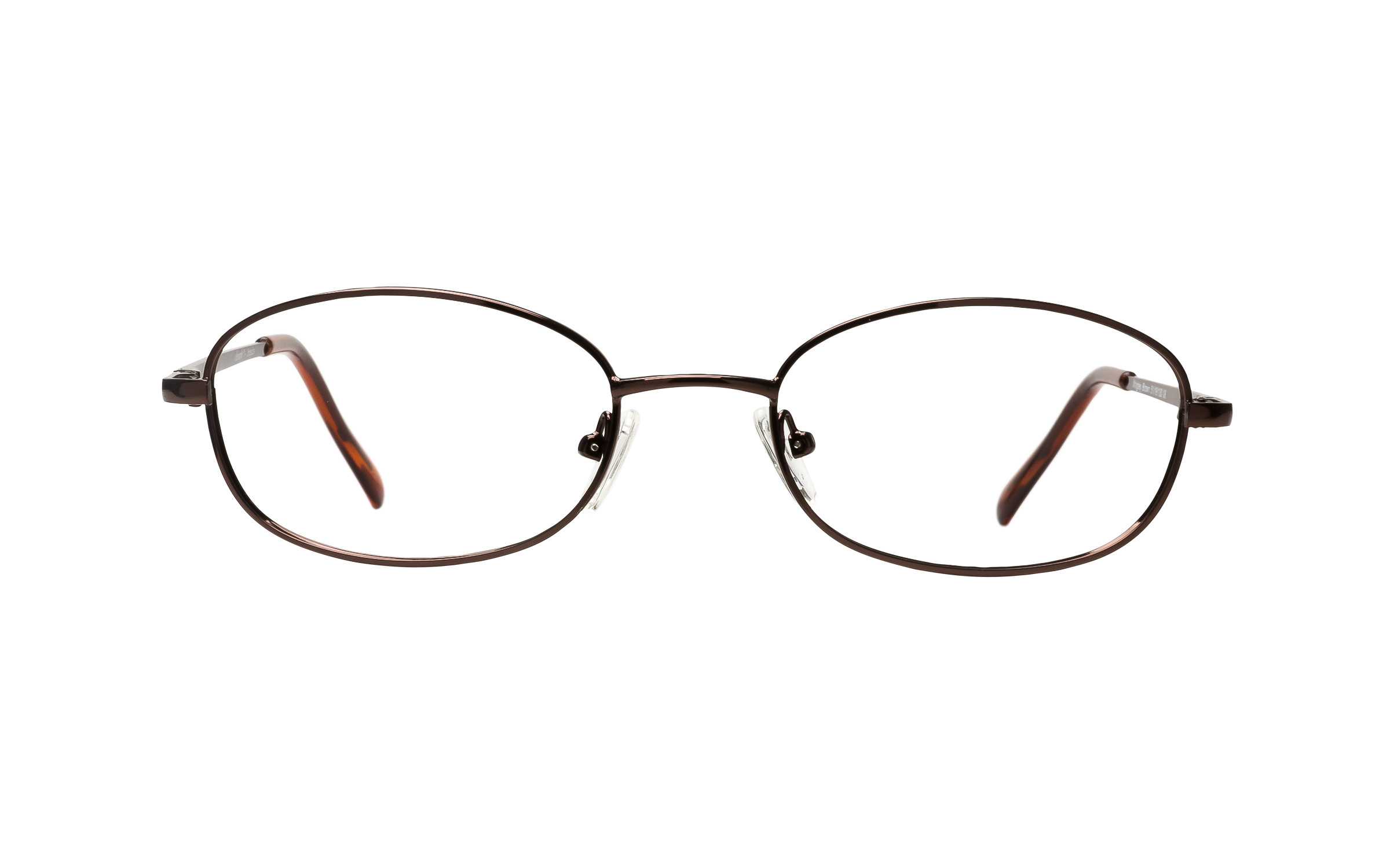 Clearly Basics Wrigley (51) Eyeglasses and Frame in Brown | Plastic