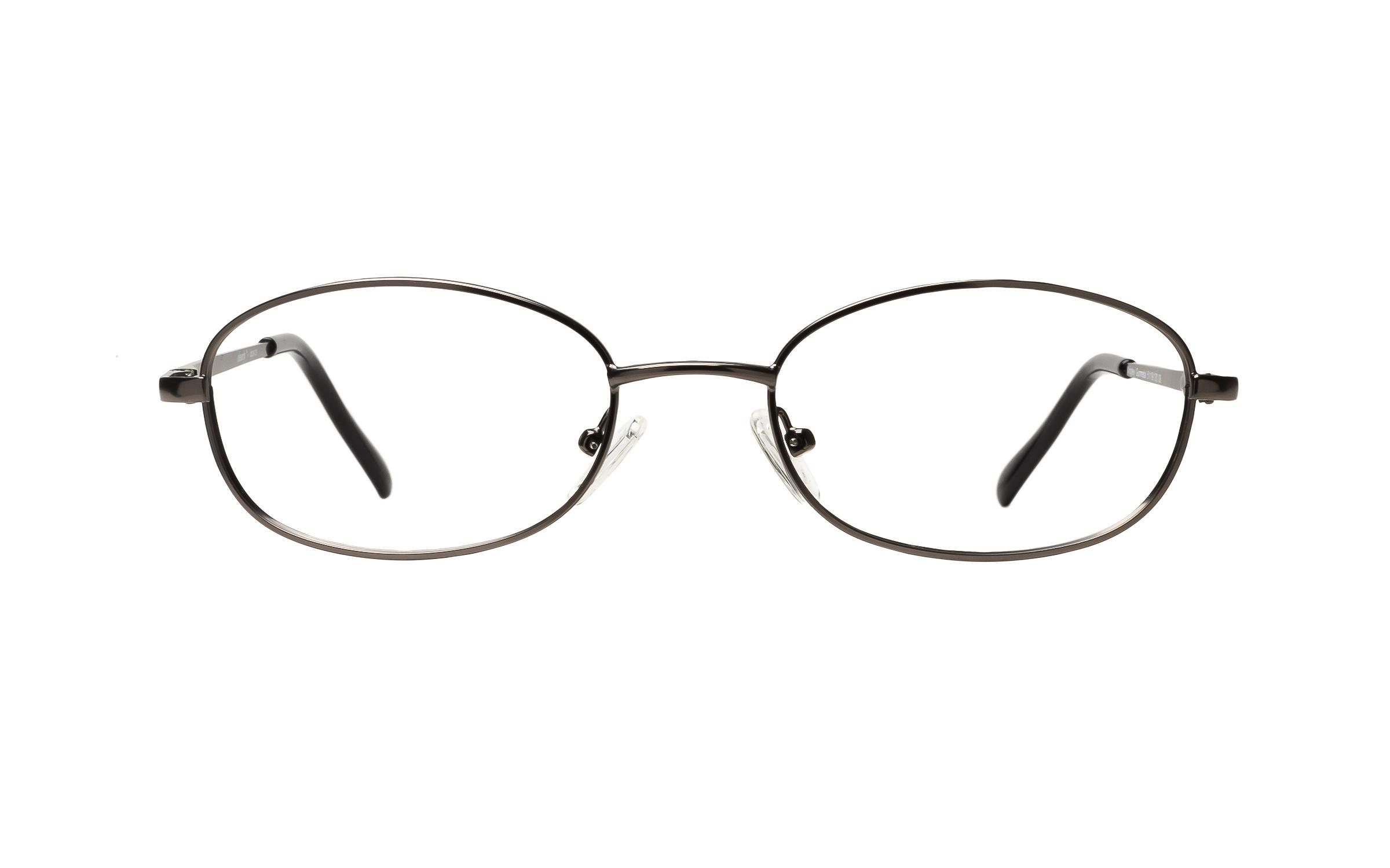 Clearly Basics Wrigley (51) Eyeglasses and Frame in Gunmetal Grey | Plastic - Online Coastal