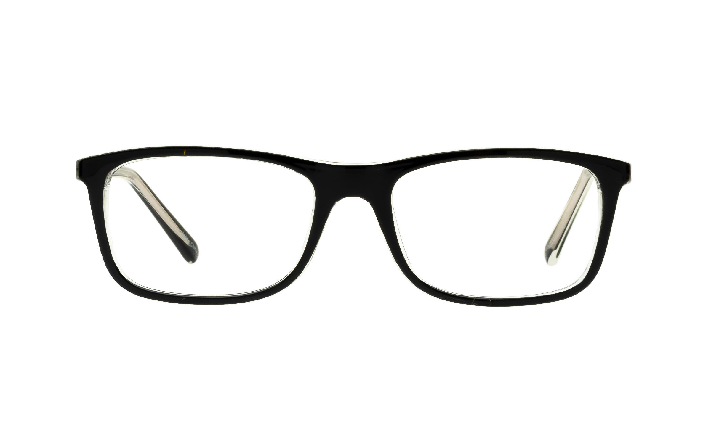 ClearlyBasics Clearly Junior Azalea KID011 C03 (49) Eyeglasses and Frame in Black | Plastic - Online Coastal