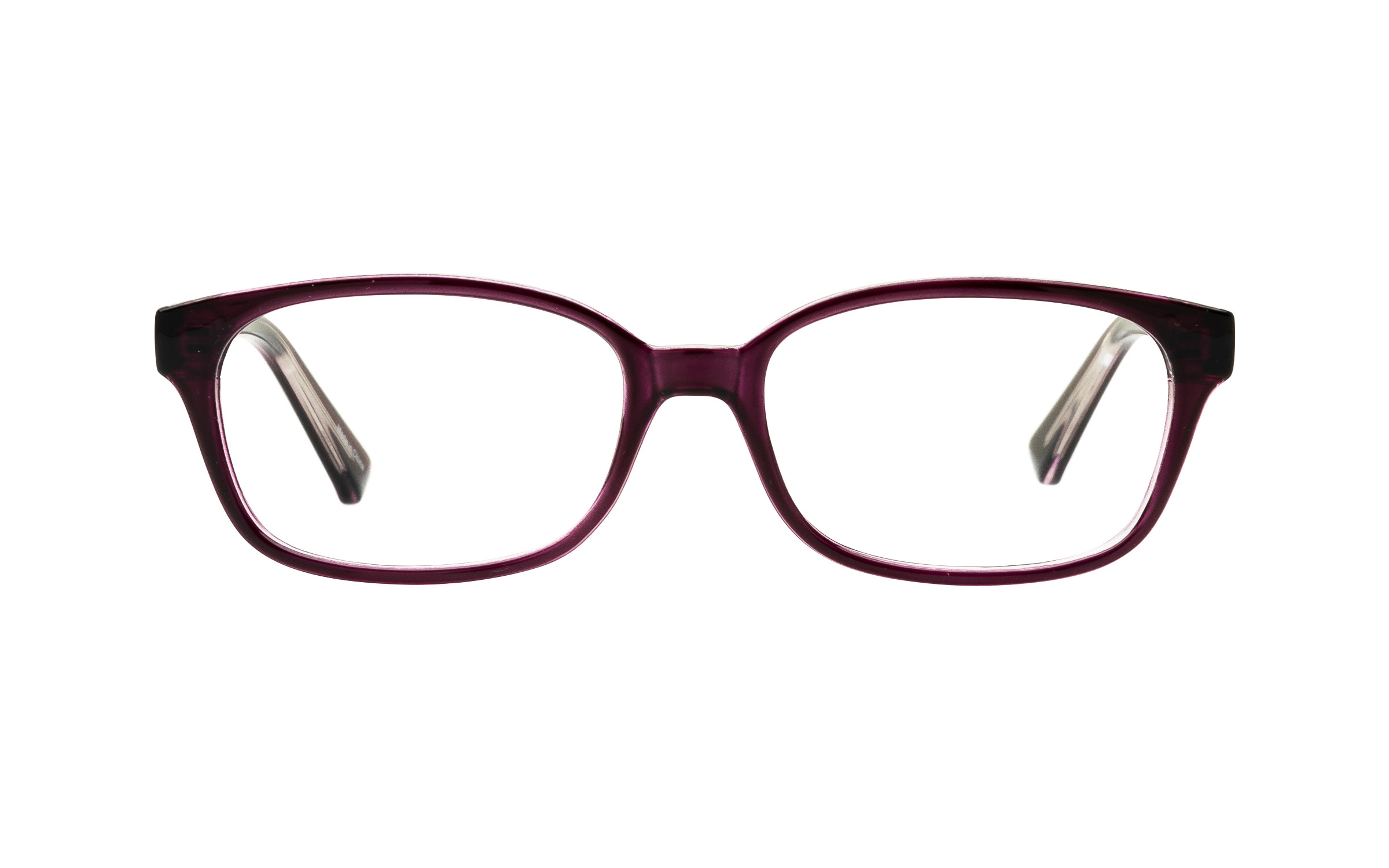ClearlyBasics Clearly Junior Peachick KID004 C03 (47) Eyeglasses and Frame in Plum Purple | Plastic - Online