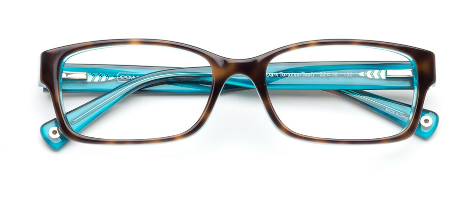 c3b5a0c26b11 product image of Coach Brooklyn Dark Tortoise Teal