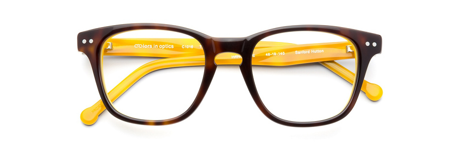 product image of Colors In Optics Sonny Tortoise Yellow