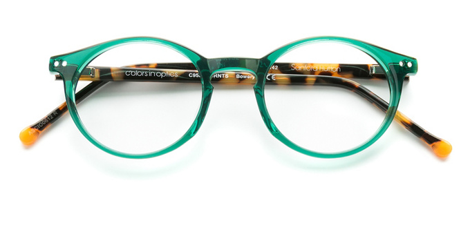 product image of Colors In Optics Bowery Emerald Tortoise