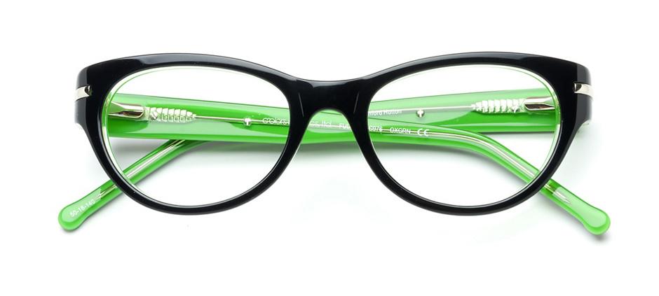 product image of Colors In Optics Fullton Black Green