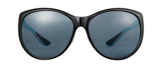 product image of Costa La Mar Shiny Black Aqua Grey 580 Polarized