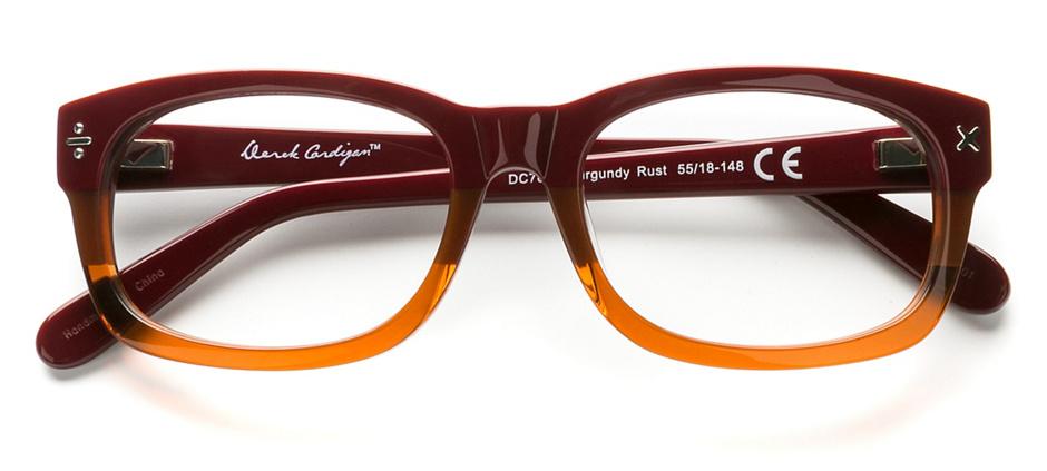 product image of Derek Cardigan 7003 Burgundy Rust