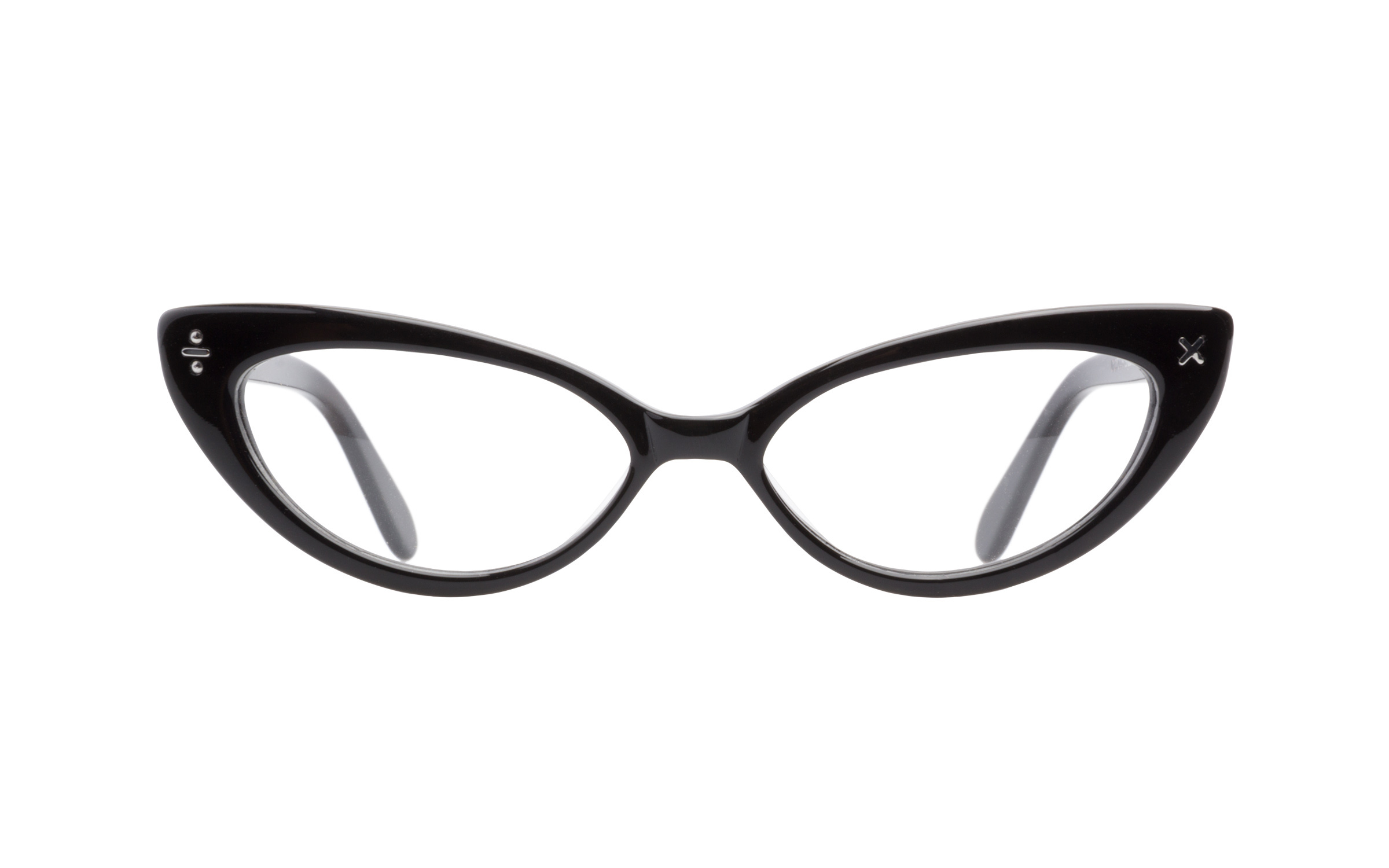 Women's Vintage Glasses Black Derek Cardigan Online Clearly