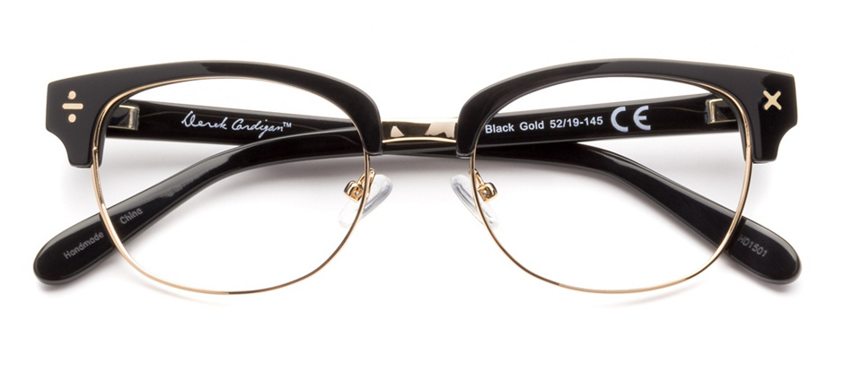 product image of Derek Cardigan 7011 Black Gold