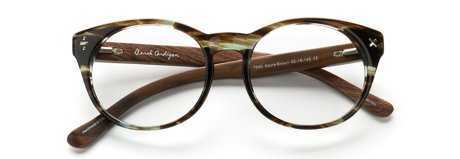 product image of Derek Cardigan 7040 Azure Brown