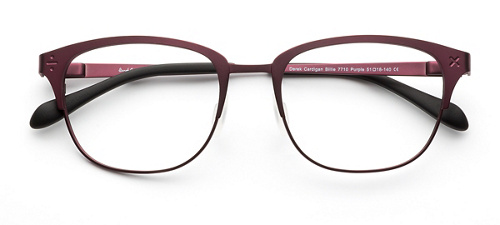 product image of Derek Cardigan Billie Purple