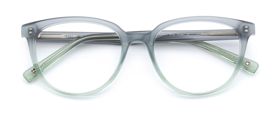 product image of Derek Cardigan Becrux-52 Shiny Gradient Grey Green