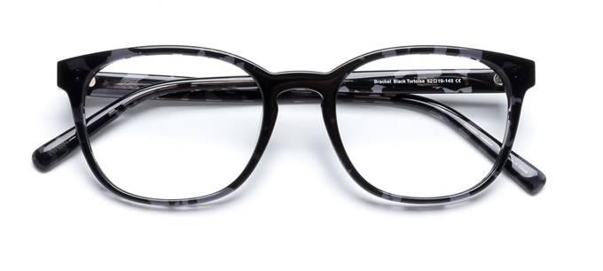 product image of Derek Cardigan Bracket-52 Écailles de tortue noires