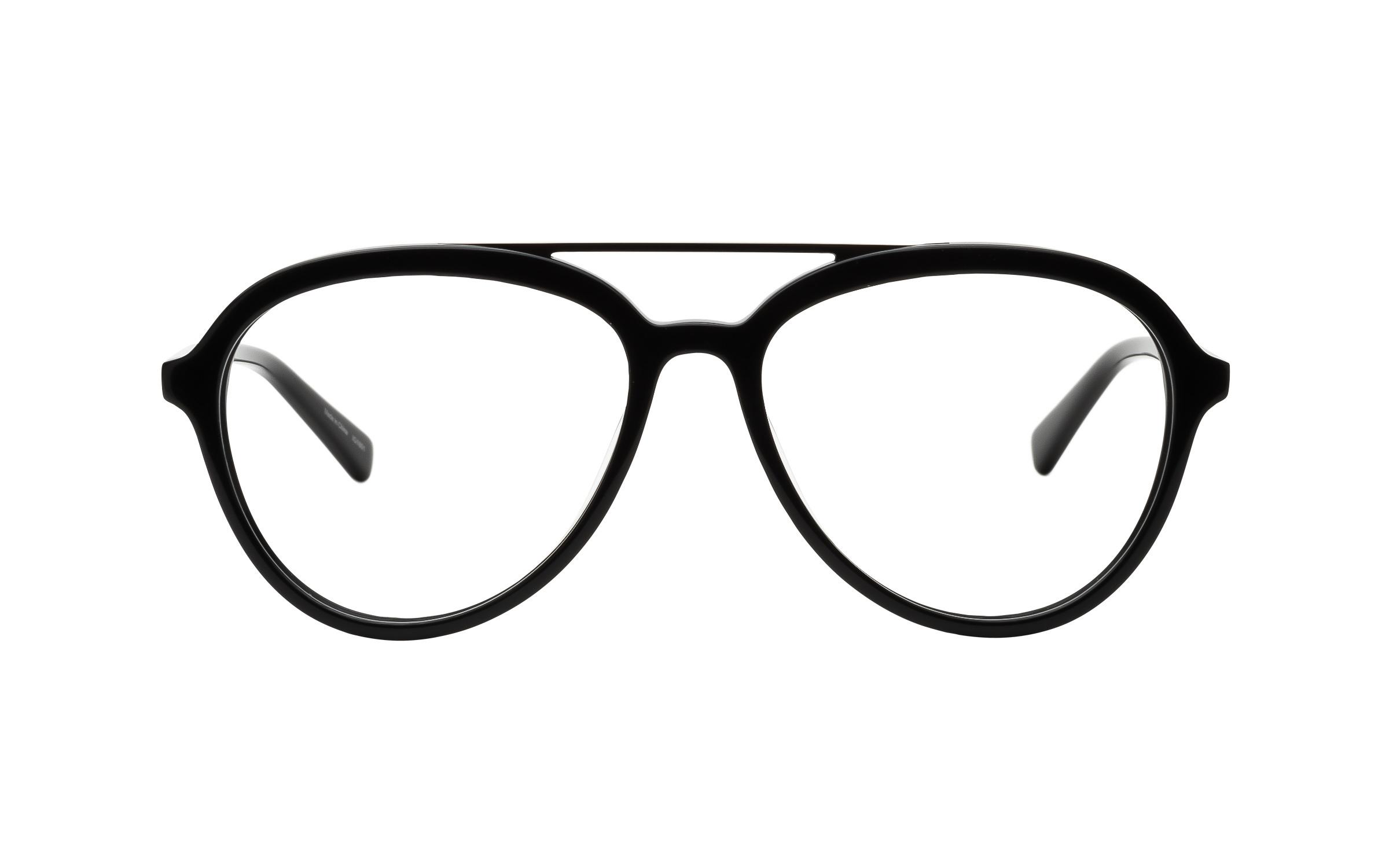 Derek Cardigan Glasses Vintage Black Acetate/Metal Online Clearly