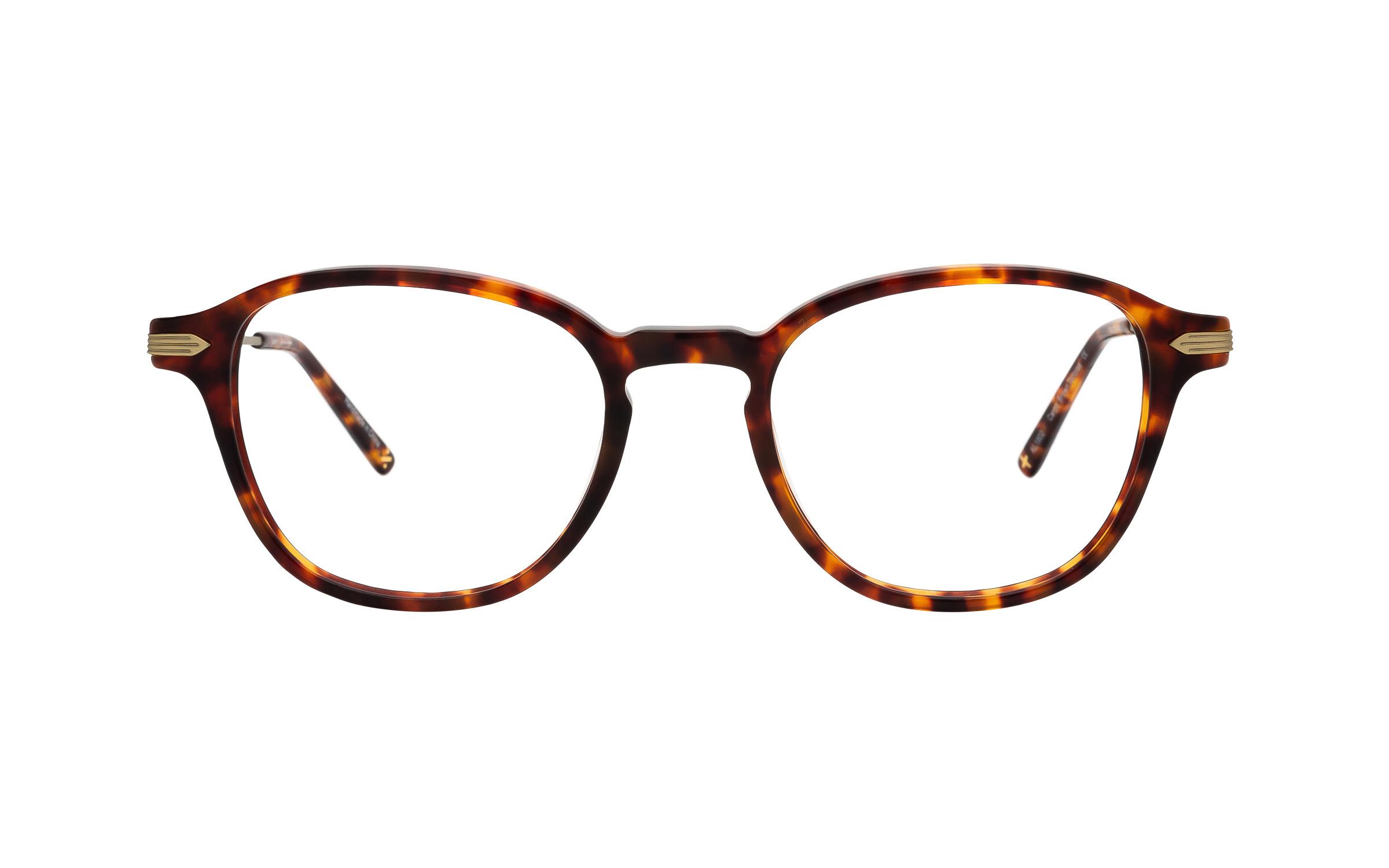 coastal.com - Derek Cardigan Carpo (49) Eyeglasses and Frame in Brown/Tortoise | Acetate/Metal – Online Coastal 55.00 USD