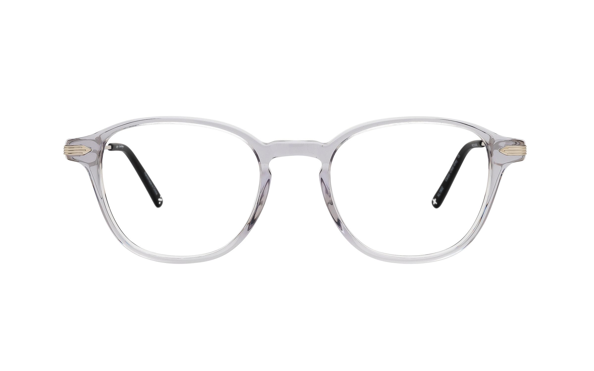 coastal.com - Derek Cardigan Carpo (49) Eyeglasses and Frame in Clear Grey | Acetate/Metal – Online Coastal 55.00 USD