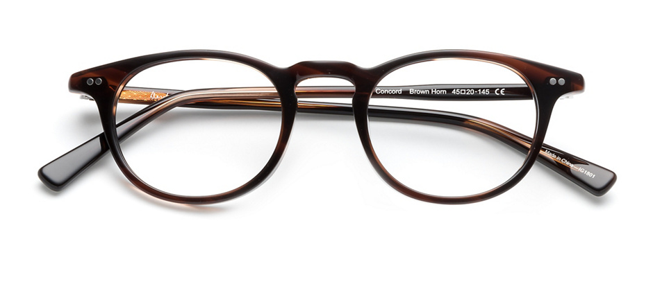 product image of Derek Cardigan Concord-45 Brown Horn