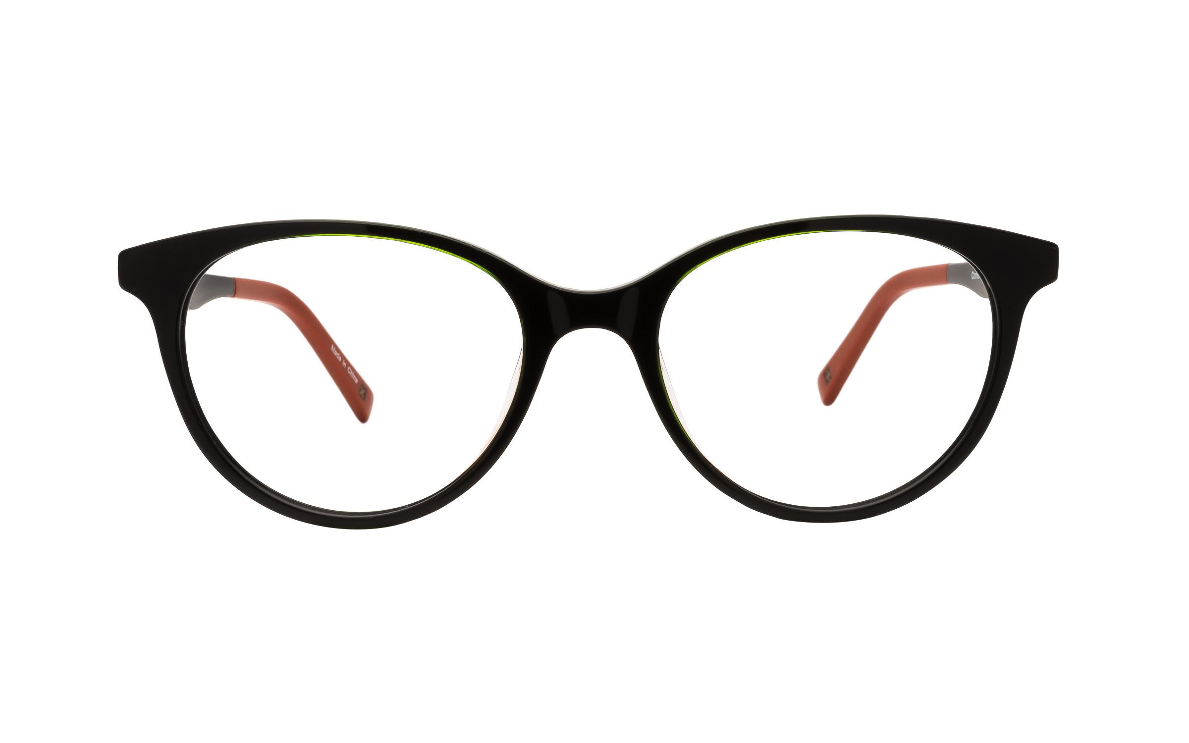 Derek Cardigan Women's Glasses Cat-Eye Black/Green Online Coastal