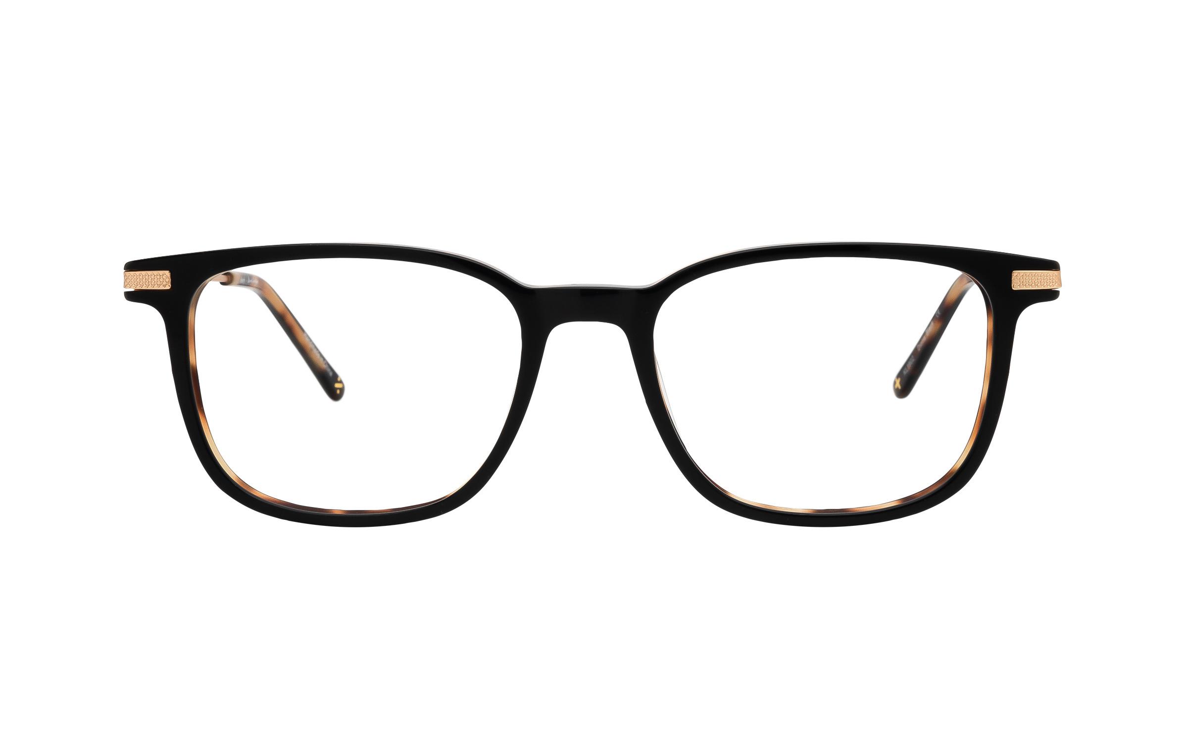 coastal.com - Derek Cardigan Dione (52) Eyeglasses and Frame in Black | Acetate/Metal – Online Coastal 55.00 USD