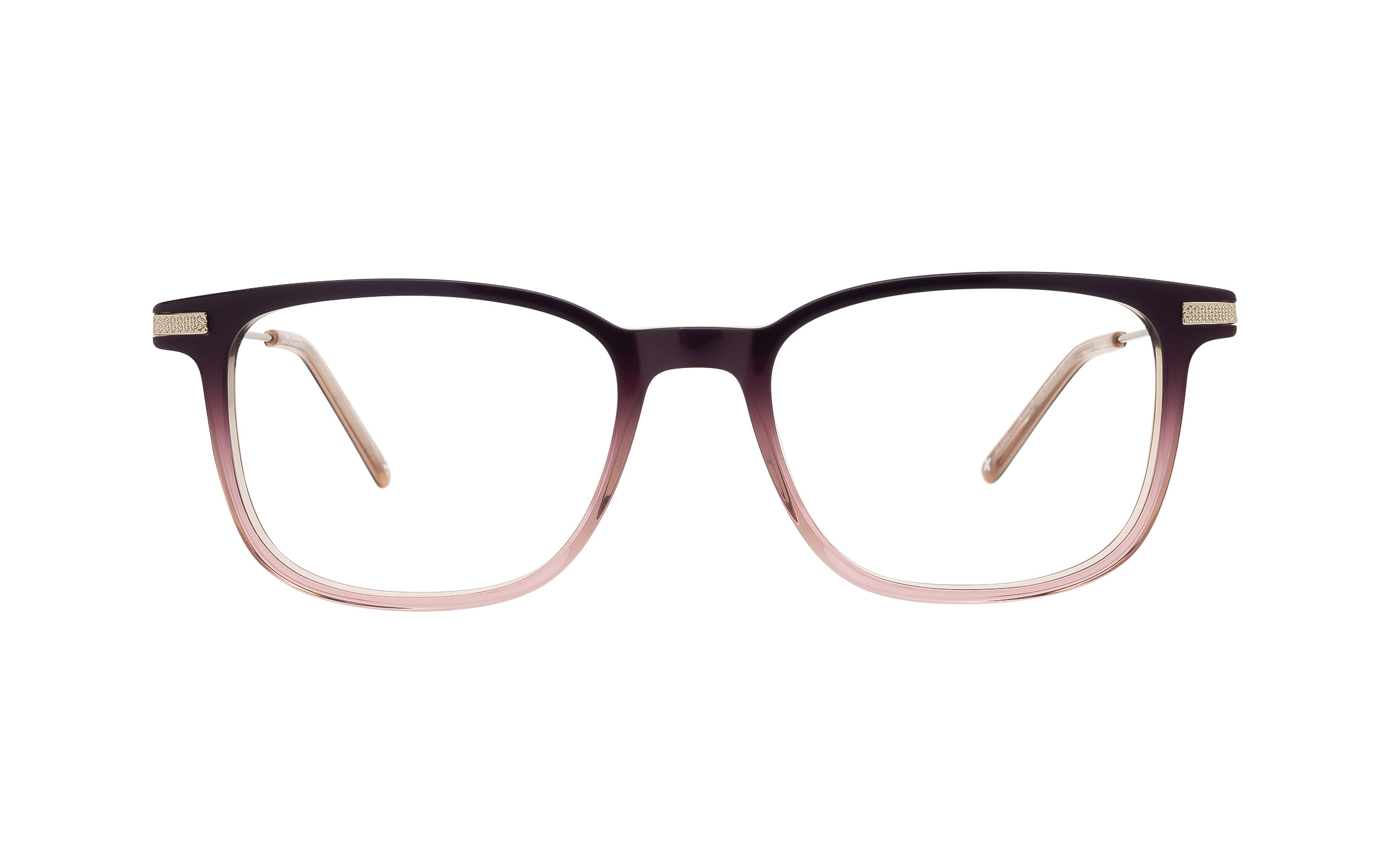 coastal.com - Derek Cardigan Dione (52) Eyeglasses and Frame in Ombre Purple | Acetate/Metal – Online Coastal 55.00 USD