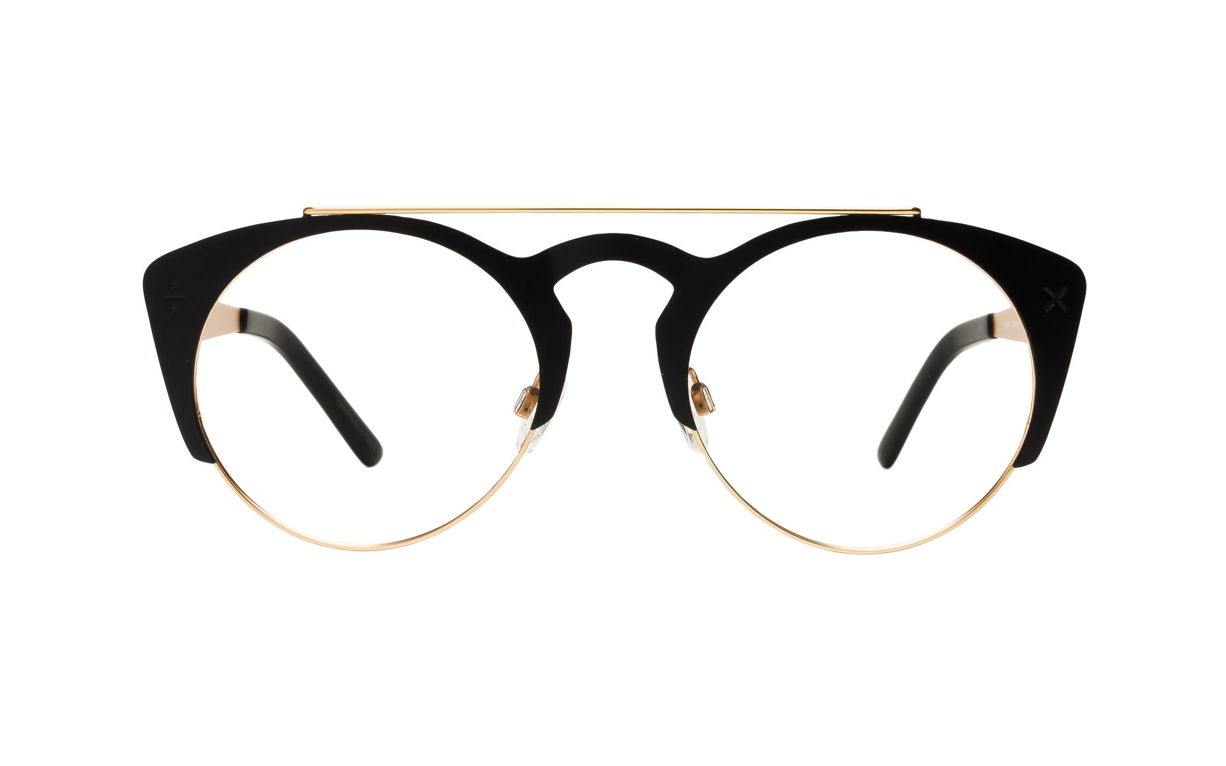 Derek Cardigan Firefly Eyeglasses And Frame In Matte Black , Metal