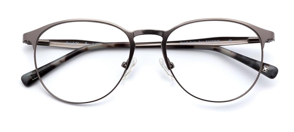 product image of Derek Cardigan Haedi-51 satin gris acier