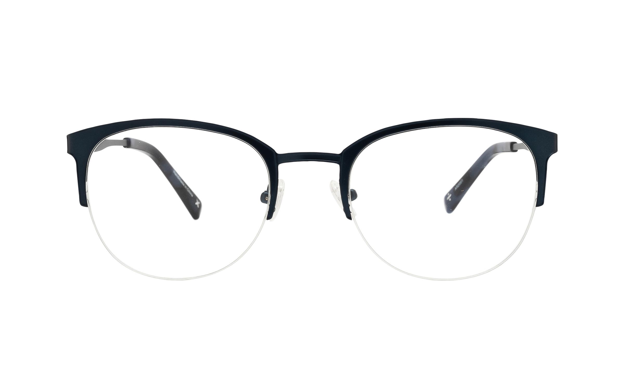 http://www.coastal.com/ - Derek Cardigan Helike TIT010 C02 (51) Eyeglasses and Frame in Navy Blue | Plastic – Online Coastal