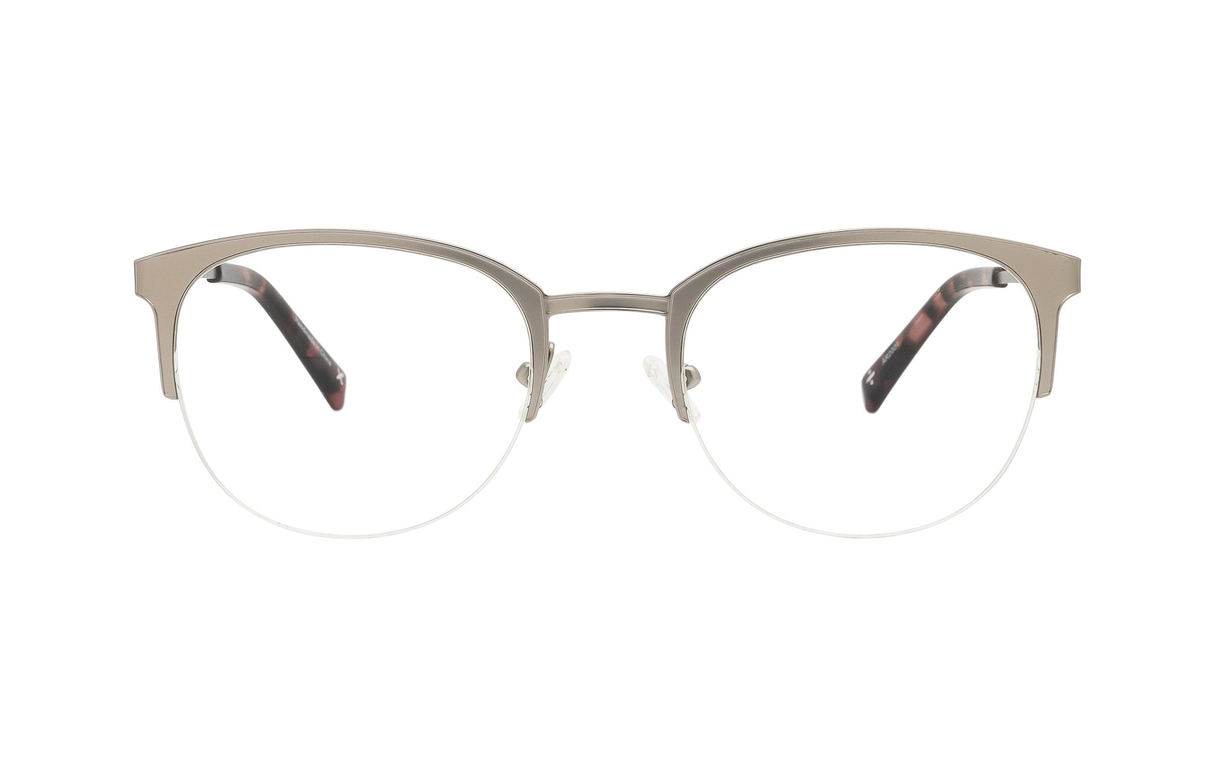 coastal.com - Derek Cardigan Helike TIT010 C01 (51) Eyeglasses and Frame in Silver | Plastic – Online Coastal 65.00 USD