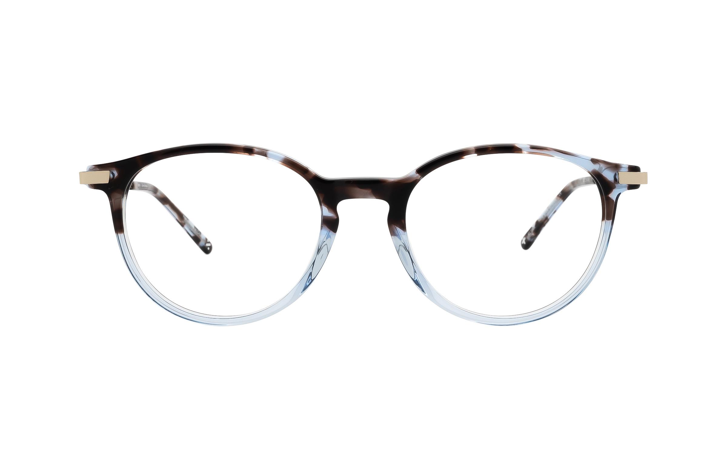 Derek Cardigan Kore (50) Eyeglasses and Frame in Blue Tortoise Blue/Tortoise | Acetate/Metal