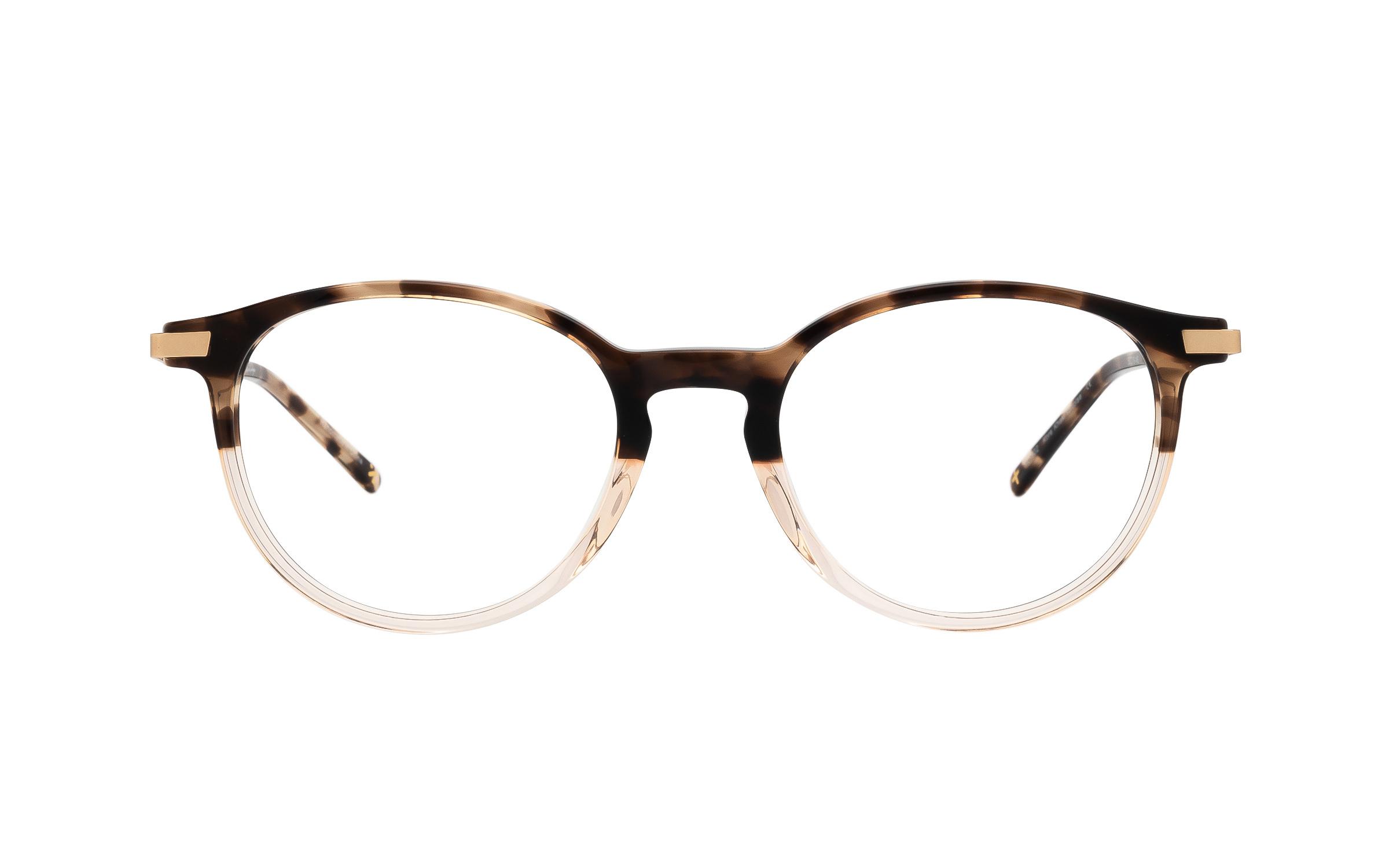 Derek Cardigan Kore (50) Eyeglasses and Frame in Khaki Brown/Tortoise | Acetate/Metal - Online