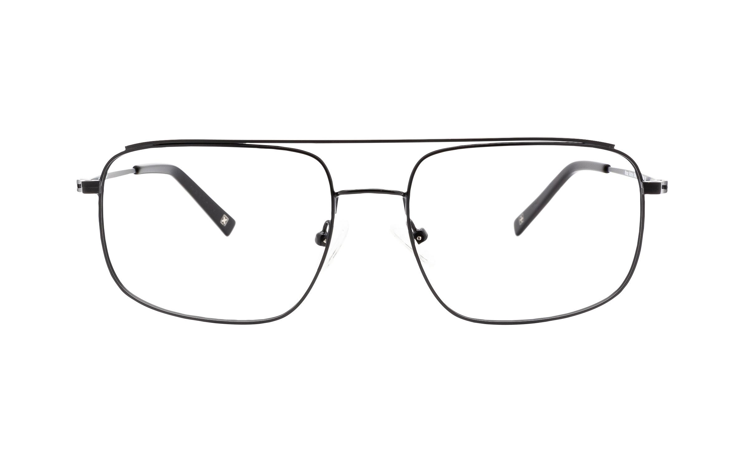 http://www.coastal.com/ - Derek Cardigan Kraz DC221 C01 (55) Eyeglasses and Frame in Matte Black | Metal – Online Coastal