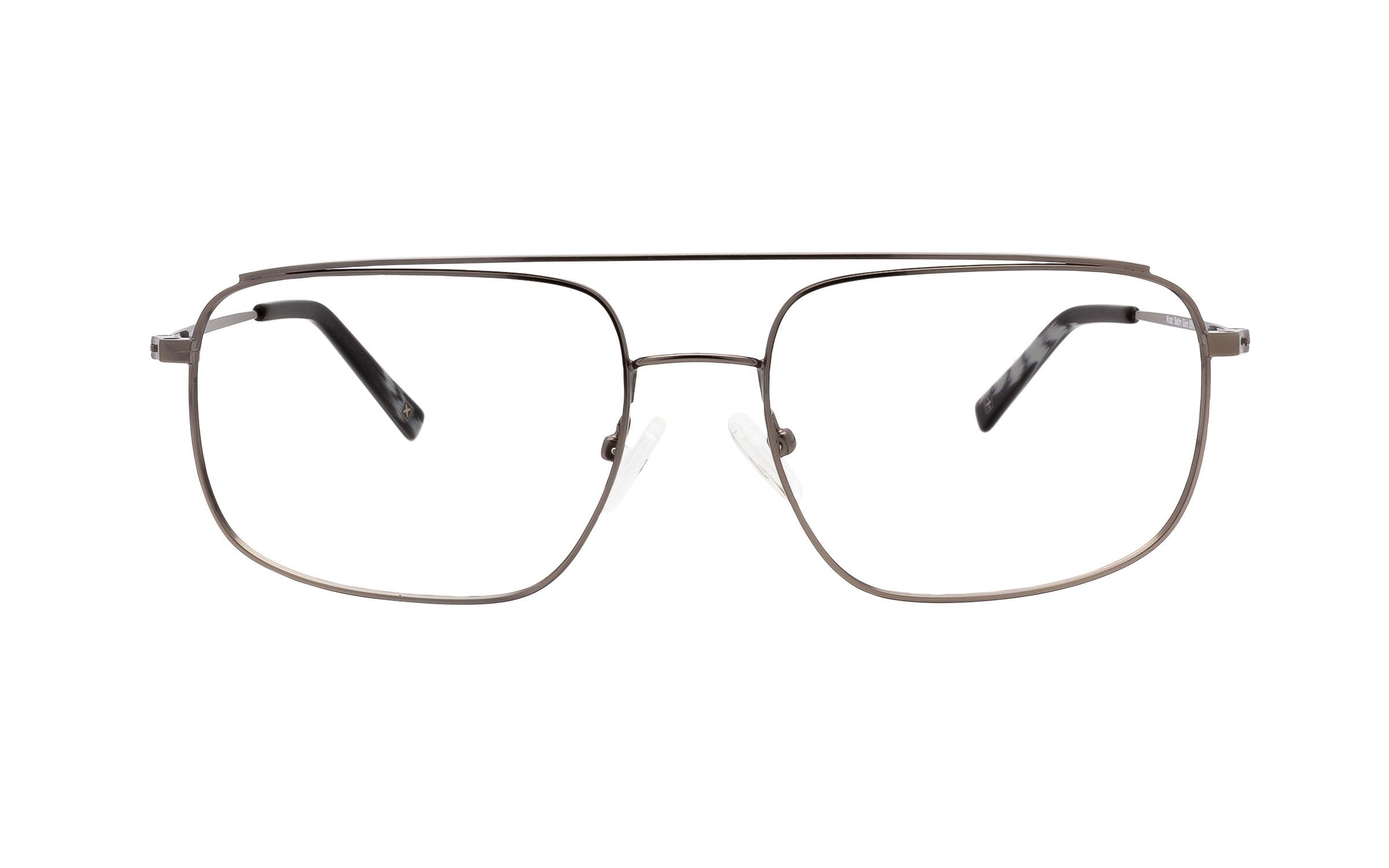 http://www.coastal.com/ - Derek Cardigan Kraz DC221 C03 (55) Eyeglasses and Frame in Satin Gun Grey | Metal – Online Coastal