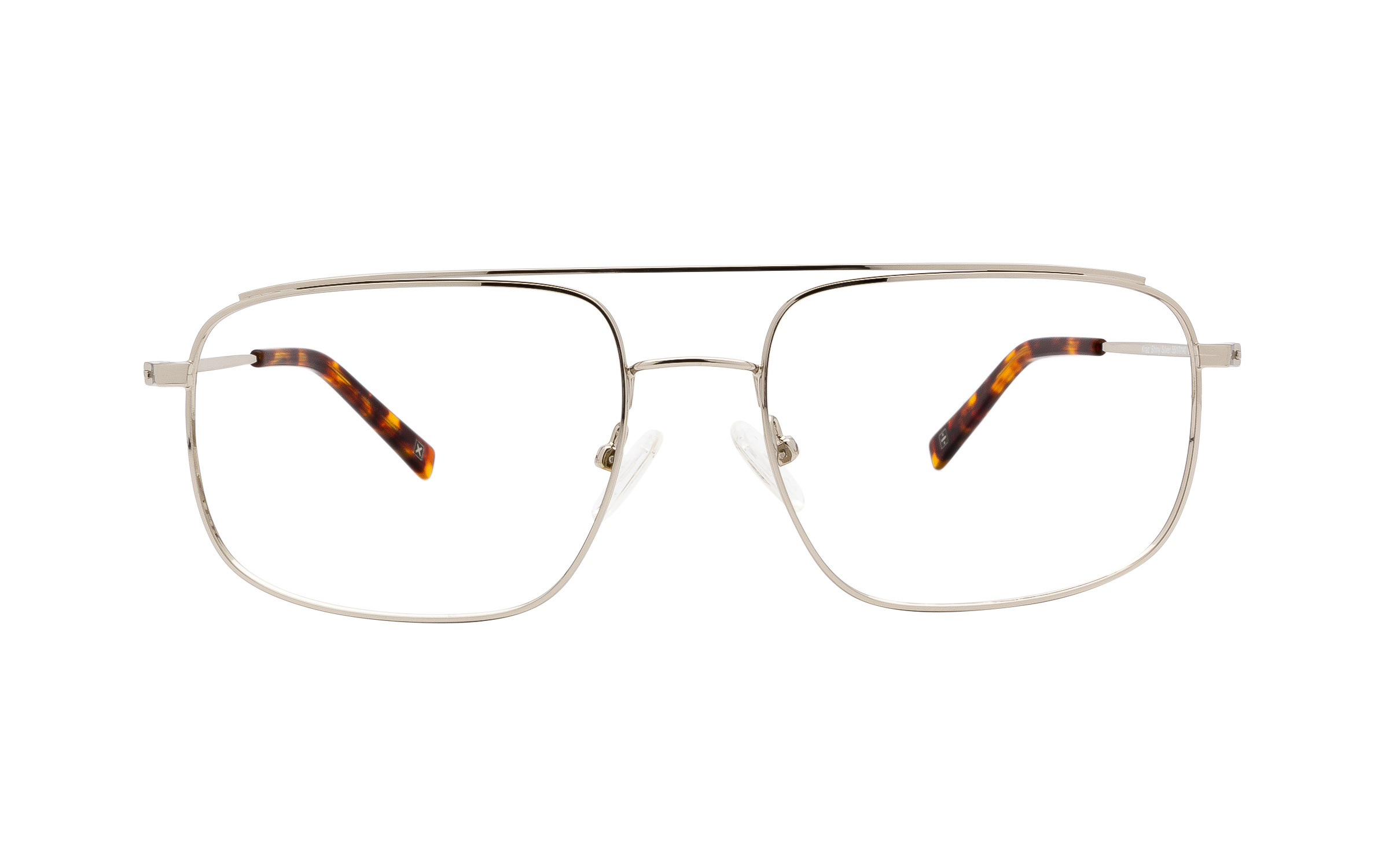 http://www.coastal.com/ - Derek Cardigan Kraz DC221 C02 (55) Eyeglasses and Frame in Shiny Silver | Metal – Online Coastal